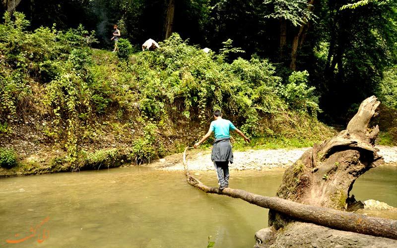 آبشار و مسیر پلنگ-دره-بهترین مناطق شمال