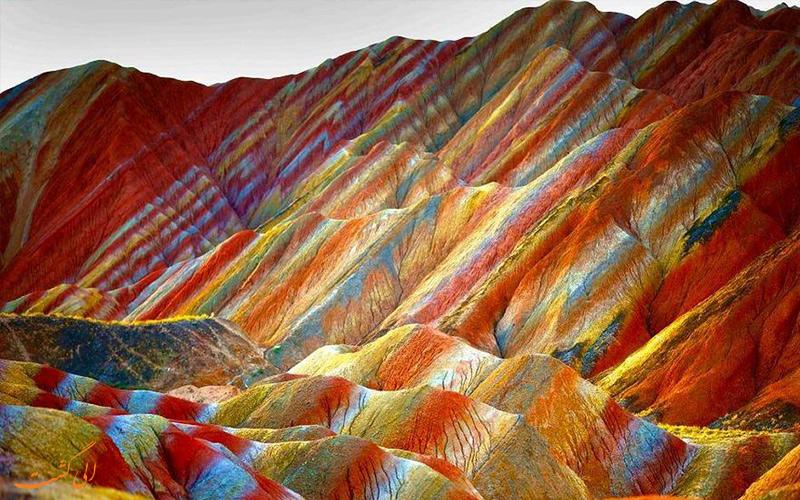 کوه های رنگی ژانگی دانکسیا