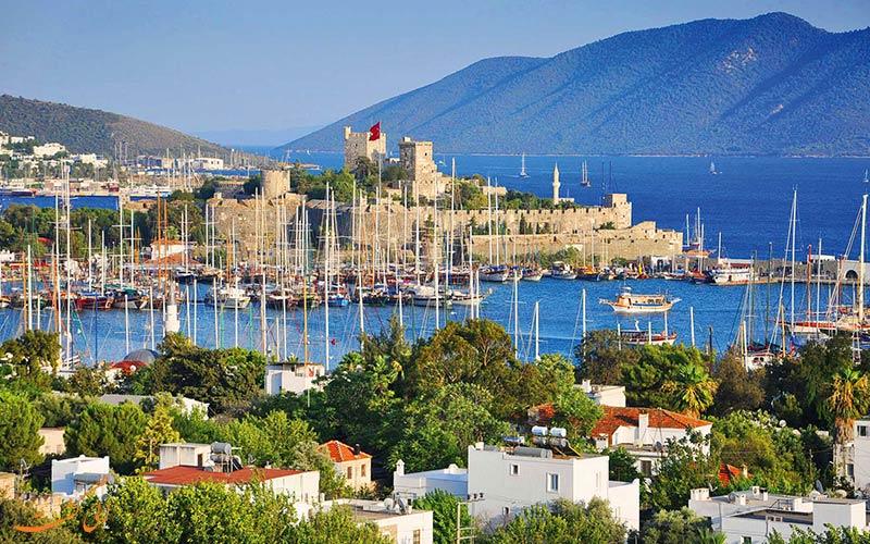 مختصری از تاریخچه ی شهر بدروم در ترکیه
