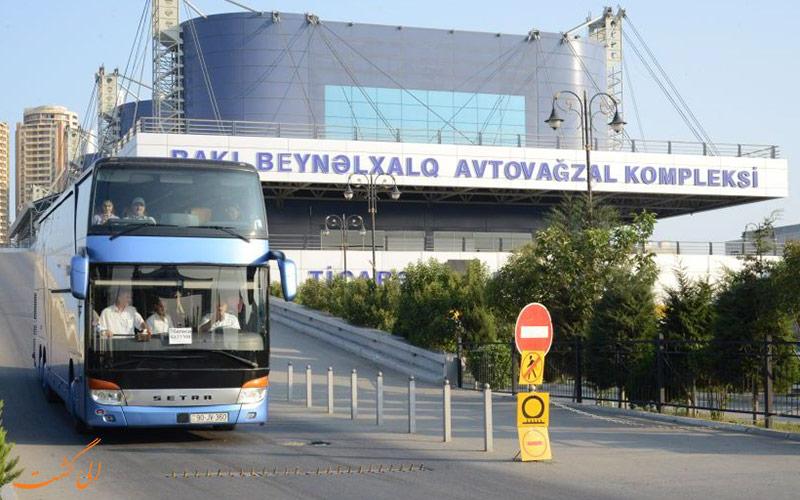 سفر زمینی به باکو از طریق اتوبوس