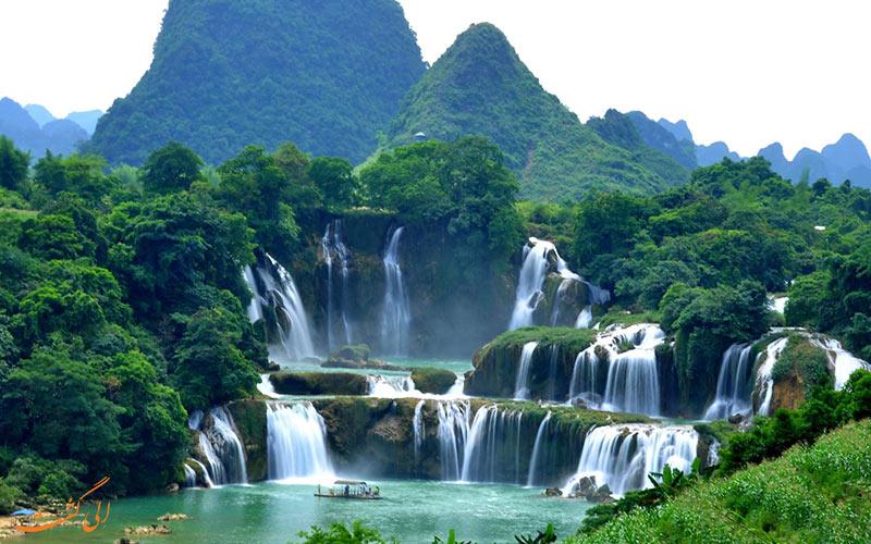 همه چیز درباره ی آبشارهای دیتین و بن گیوک