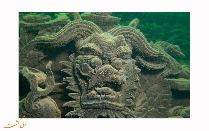 دریاچه کیاندو در چین و شهرهای زیرآبی باستانی شی چنگ و هی چنگ