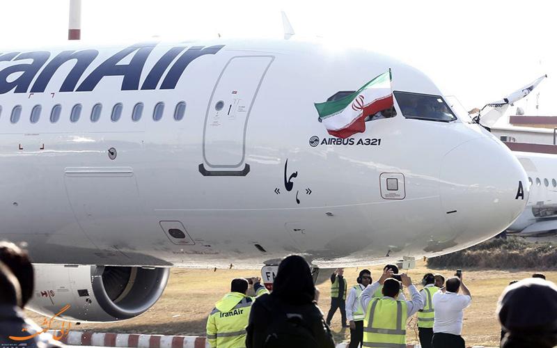 انواع هواپیماهای مسافربری ایران ایر