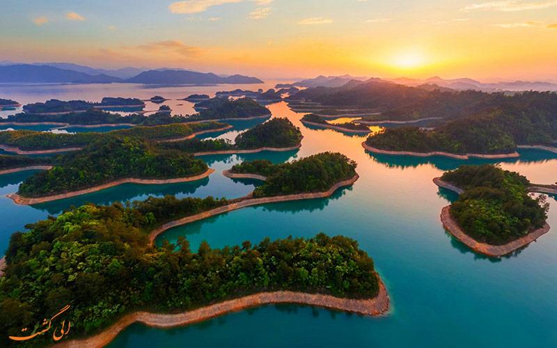 دریاچه کیاندو در چین | Qiandao Lake