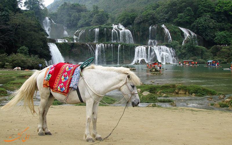 نکات سفر به آبشارهای دیتین و بن گیوک