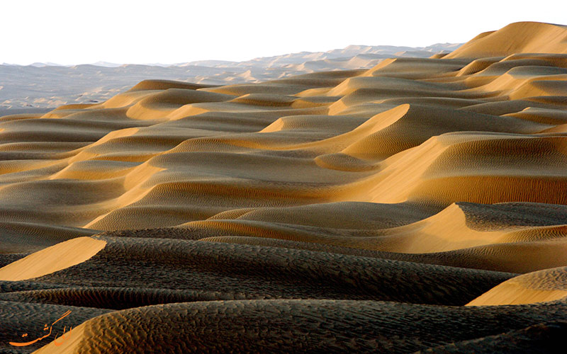 بیابان تکله مکان، از جاذبه های طبیعی کشور چین