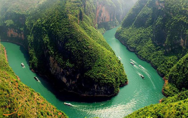 مجموعه آبشارهای هئوانگ گوژو