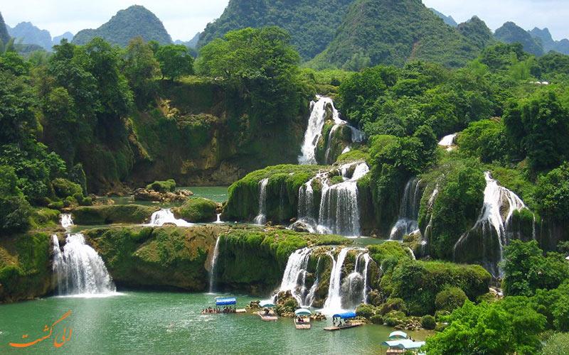 آبشار بن گیوک در ویتنام