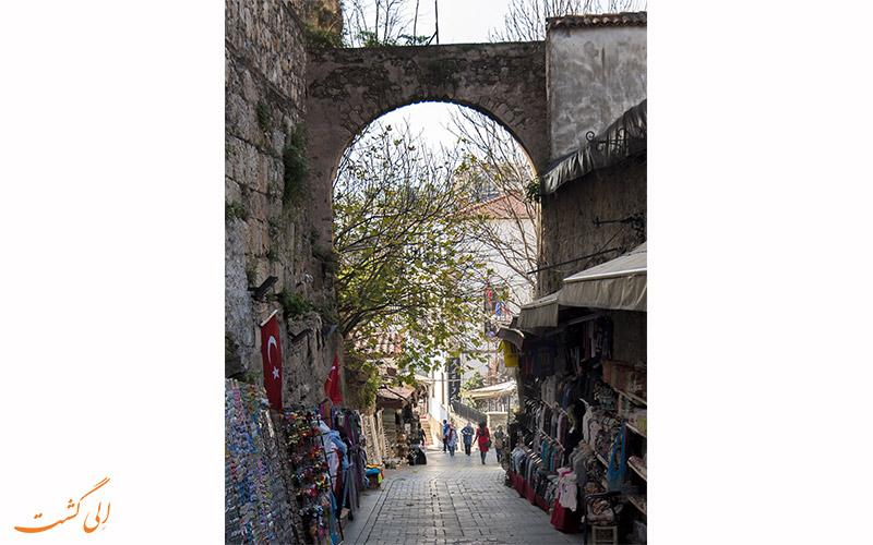 شهر کالیچی در آنتالیا | kaleiçi old city