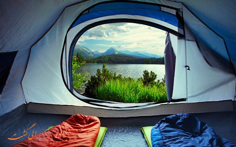 کیسه خواب از وسایل ضروری برای مسافرت-وسایل مورد نیاز سفر