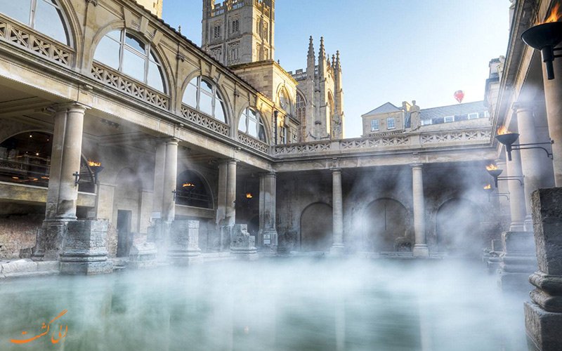 حمام بزرگ و تاریخی ثروتمندان اروپا