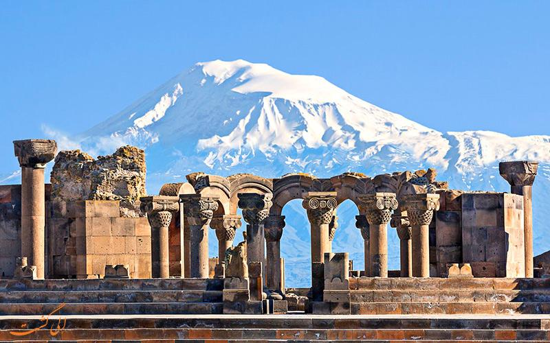 کلیسای جامع زوارتنوتس ارمنستان