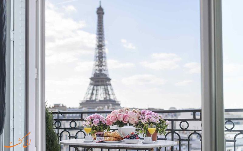 گشت و گزارصبحگاهی در پاریس!