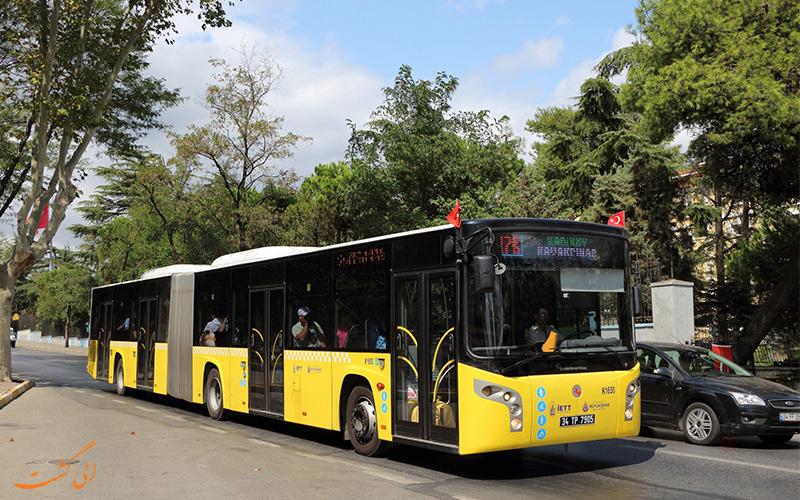 اتوبوس در استانبول