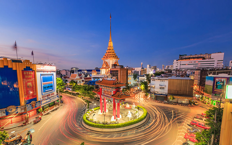 محله چینی ها در تایلند