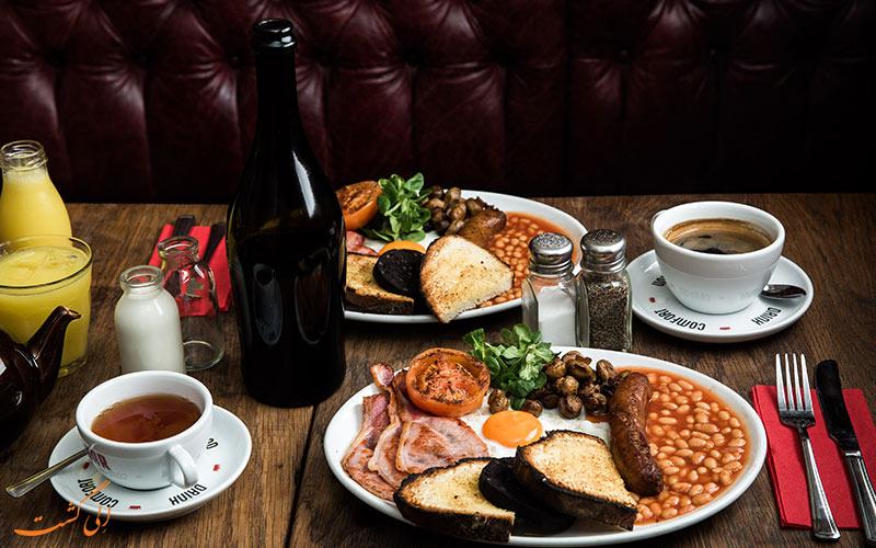 طرز تهیه ی صبحانه ی مخصوص انگلیسی