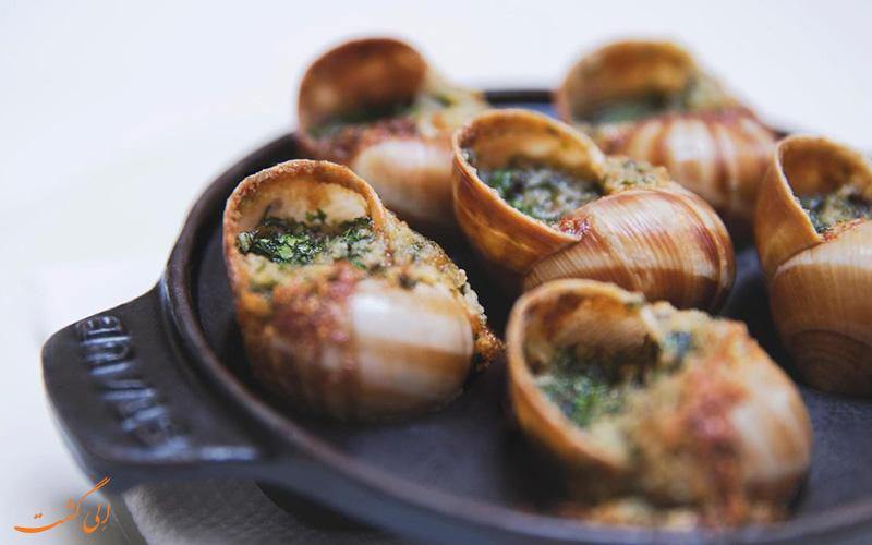 خوراک صدف فرانسوی