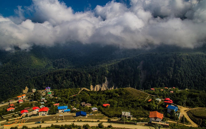 روستای جواهرده در رامسر
