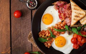 صبحانه ی مخصوص انگلیسی