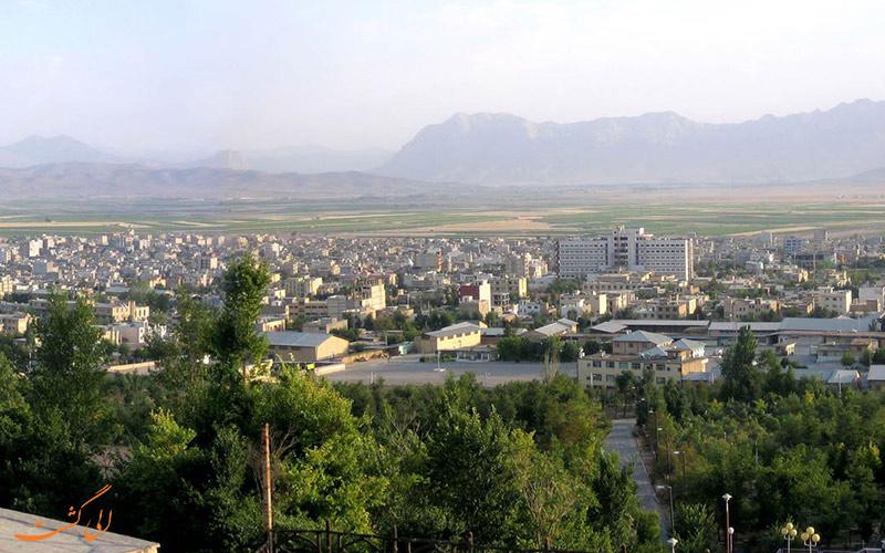 شهرکرد در چهار محال بختیاری
