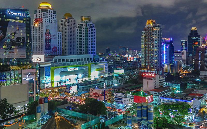 دو شهر پاتایا و بانکوک
