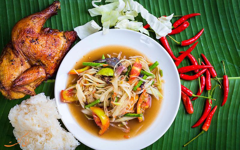 هزینه غذا در بانکوک