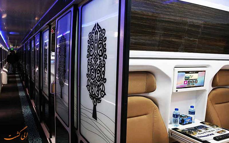 قطارهای لوکس ایرانی