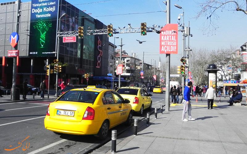 راهنمای گرفتن تاکسی در استانبول