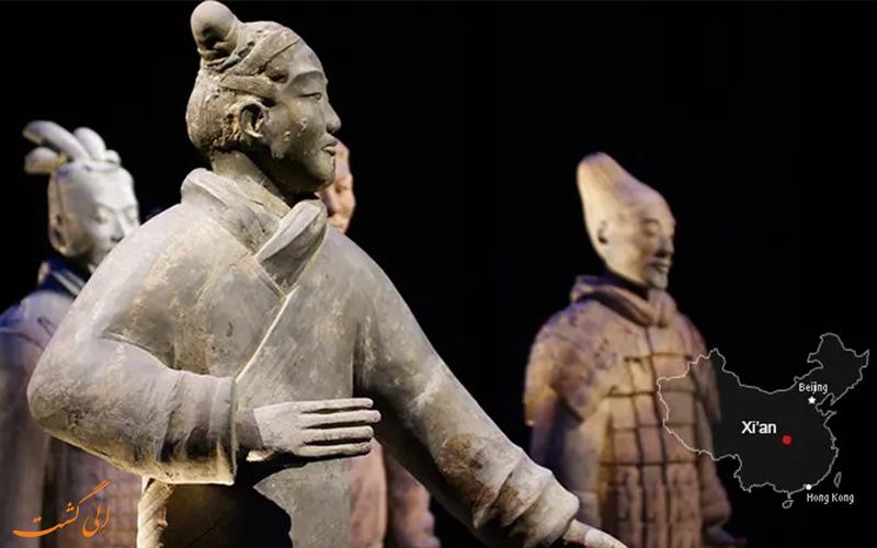ارتش تراکوتا شیان از شهرهای معروف چین
