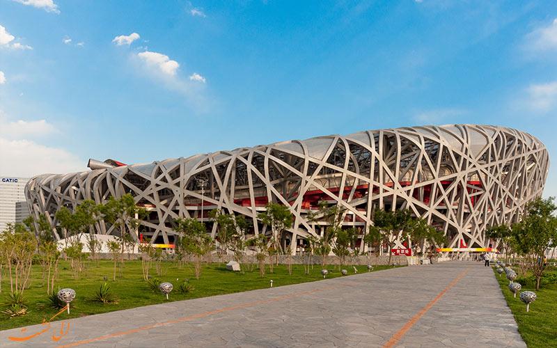 استادیوم لانه پرنده از جاذبه های گردشگری پکن