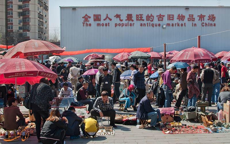 بازارهای عتیقه فروشی برای خرید در پکن