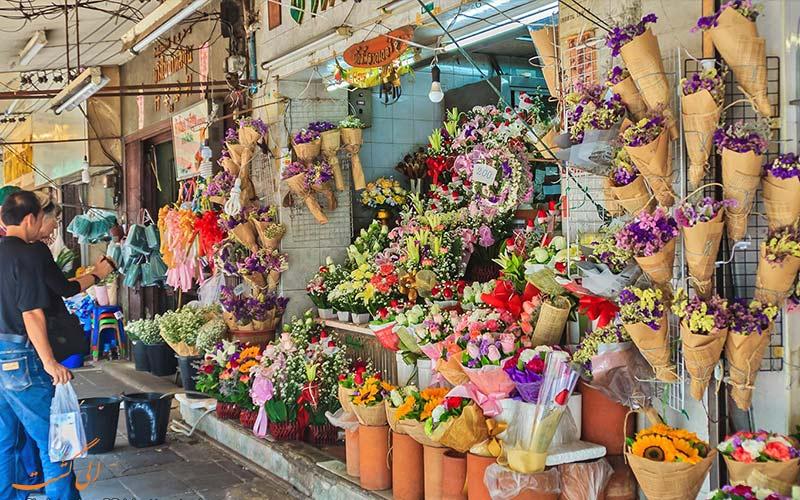 بازار-گل-برای خرید در پکن