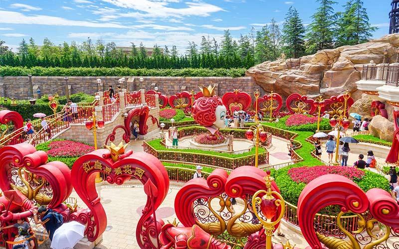 باغ تخیلی پارک دیزنی لند شانگهای
