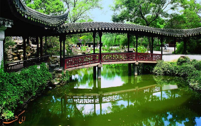 باغ-محقر-رئیس از جاذبه های شهرهای معروف چین