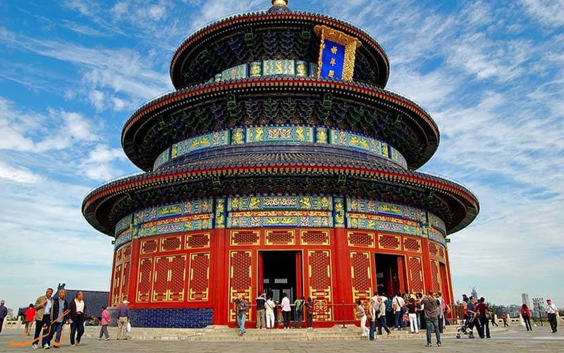 بنای بهشت پکن