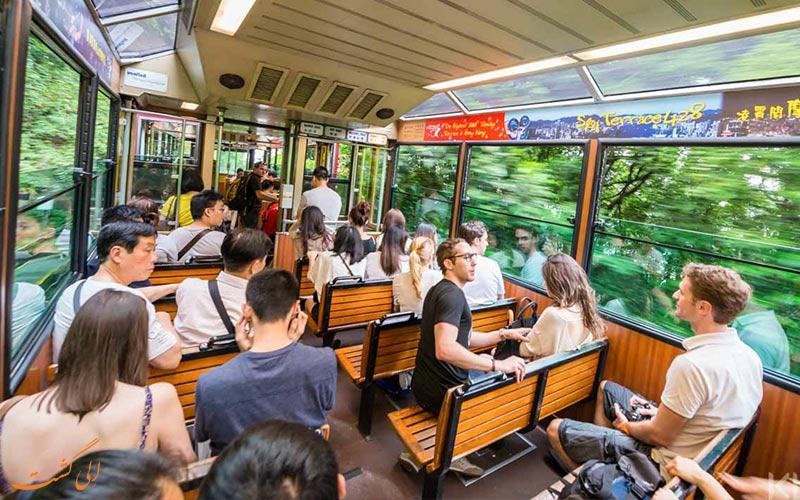 تراموای هنگ کنگ از شهرهای معروف چین