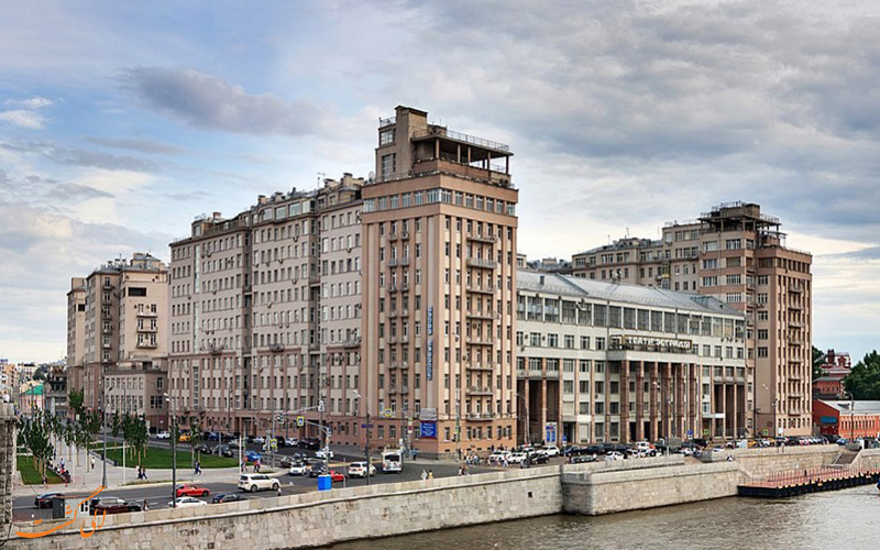 ساکنان ساختمان دولتی مسکو