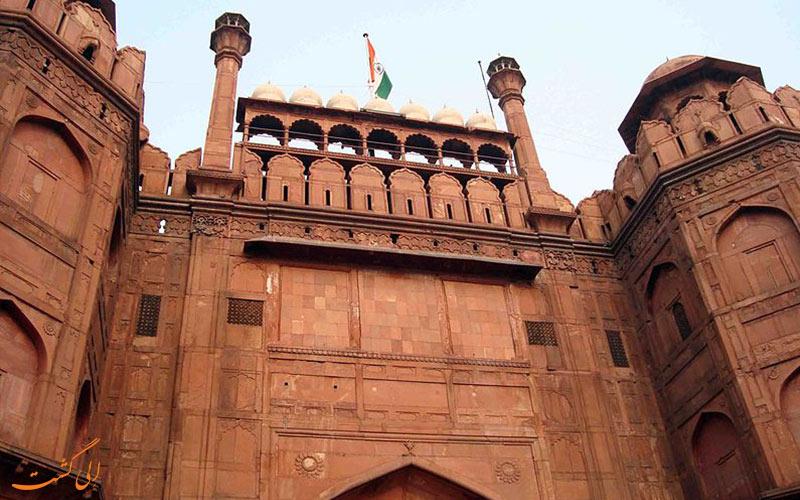 دروازه لاهوری قلعه سرخ دهلی