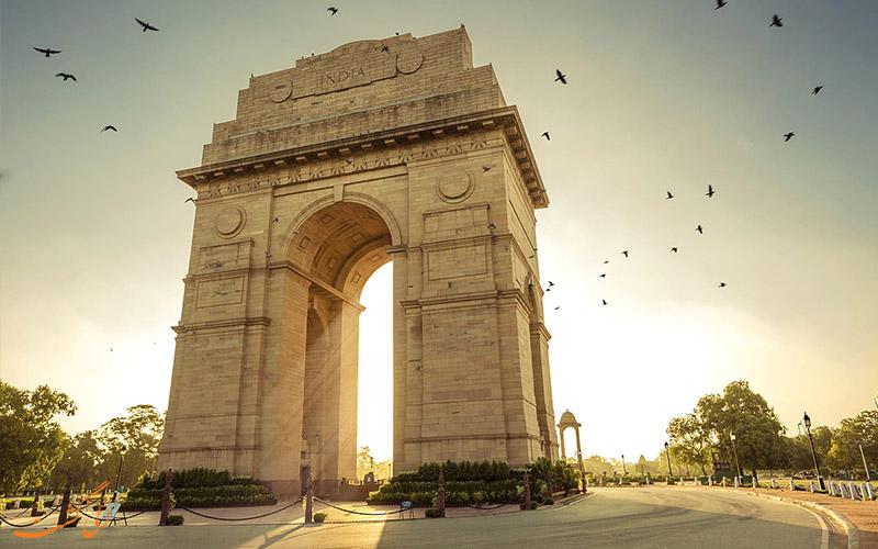 دروازه هند در دهلی-جاذبه های دهلی