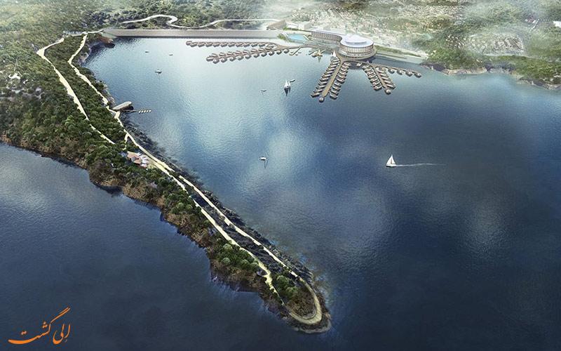 دریاچه جینهای پکن-جاذبههای طبیعت گردی پکن