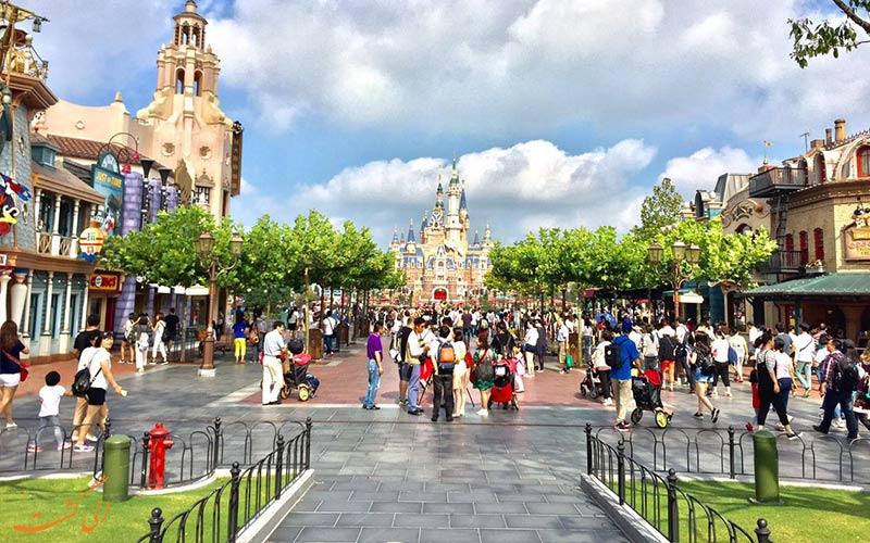 دنیای سرزمین آینده پارک دیزنی لند شانگهای