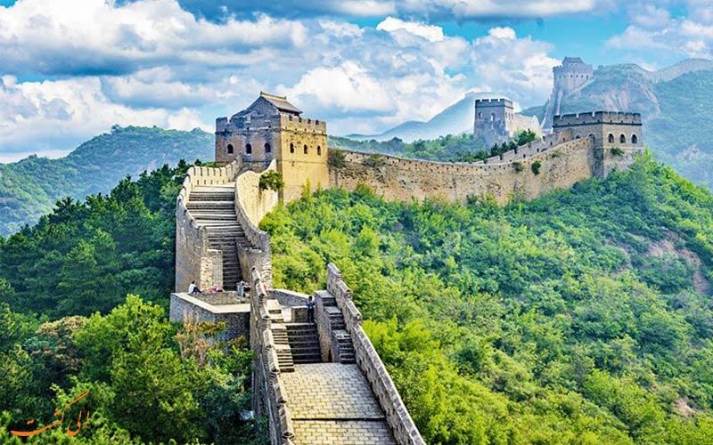 دیوار بزرگ چین از جاذبه های گردشگری پکن
