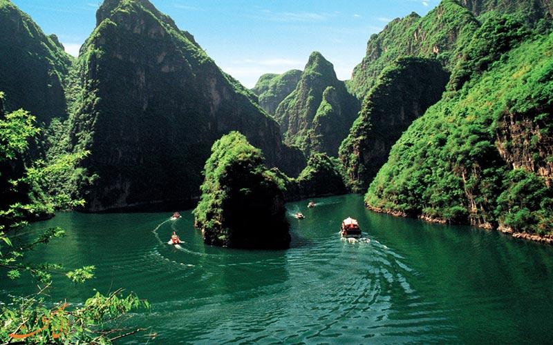 رودخانه لانگکینگ جورج پکن-جاذبههای طبیعت گردی پکن