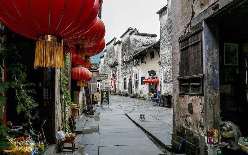 روستای-ژیدی از جاذبه های شهرهای معروف چین
