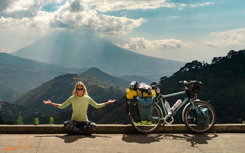 سفرهای طبیعت گردی با دوچرخه