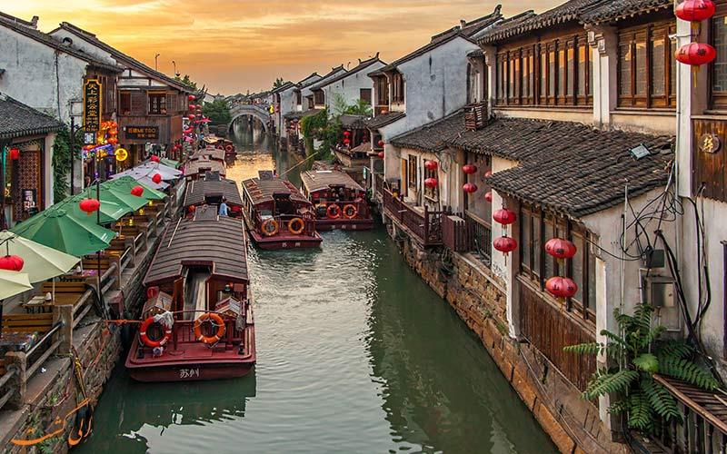 روستاهای آبی سوژو-شهرهای معروف چین