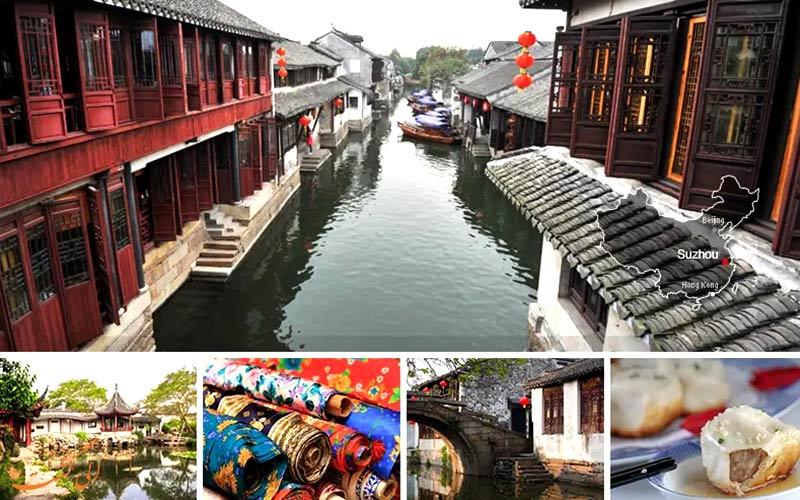 سوژو و شهرهای معروف چین