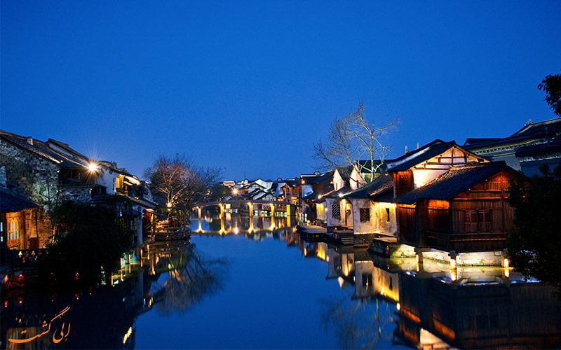شب-های-غرب-ووژن از شهرهای آبی چین