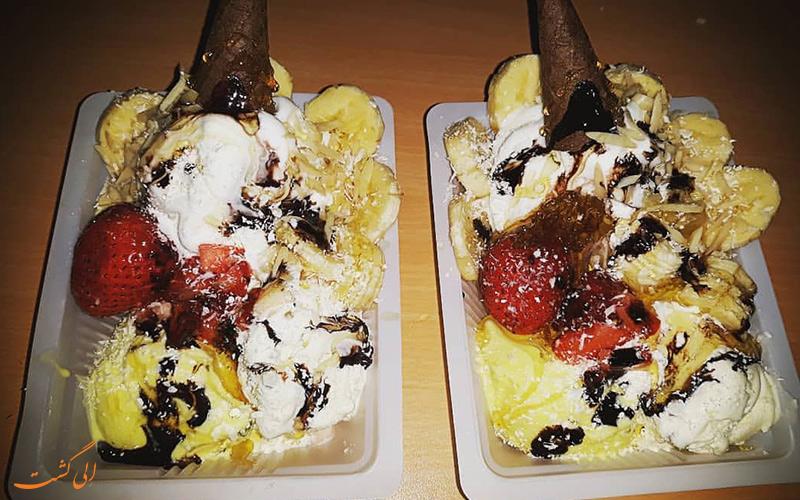 بستنی فروشی های میدان سپاه