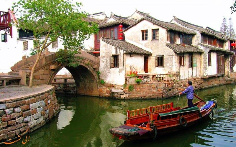 شهر آبی ژوژوآنگ از شهرهای آبی چین